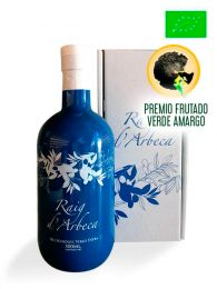 Aceite de Oliva Virgen Extra de Arbequina - Ecológico - Botella de 500ml con estuche - Raig d'Arbeca - Lleida