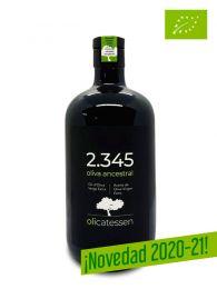 2.345 - Aceite de Oliva Virgen Extra - Ecológico - Botella de 500ml. Variedades Ancestrales - Olicatessen - Els Torms - Lleida