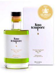 Aceite Premium Suo Tempore VE - Botella de 500ml con estuche - Raig d'Arbeca - Lleida