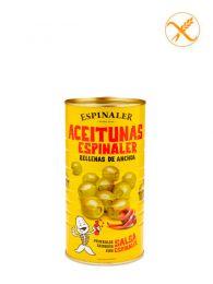 Aceitunas rellenas de anchoa - Lata 350grs. - Espinaler