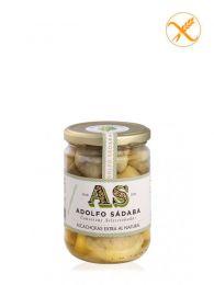 Alcachofas al Natural - Frasco 445ml - Conservas Gourmet Adolfo Sádaba - Navarra