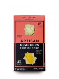 Crackers Artesanos - Pimienta Jamaica y Mostaza con Arroz - Caja 150grs. - Paul and Pippa - Barcelona