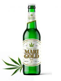 Cerveza Artesana con Cannabis Sativa - Premium - Botella de 33Cl. - Marigold - Alemana
