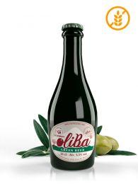 Oliba Green Beer, Cerveza artesana de olivas Empeltre, de Aragón, de Mís Raíces