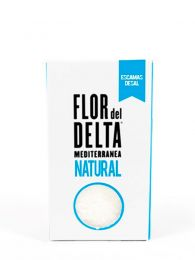 Escamas de Sal Natural - Caja 125grs. - Flor del Delta