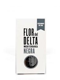 Escamas de Sal Negra - Caja 125grs. - Flor del Delta