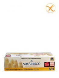 Espárragos Blancos - Cojonudos - Lata 1/2Kg - (8-10) - El Navarrico