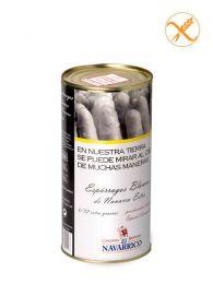 Espárragos Blancos de Navarra - Lata 1Kg - (9/12) - (50 Aniversario) - El Navarrico