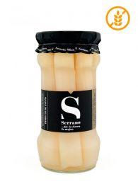 Comprar espárragos de Navarra gourmet, extra gruesos, 6/9 de Conservas Navarro 530grs. tarro de cristal