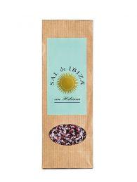 Flor de Sal de Ibiza con Hibiscus - Saco de 150grs. - Sal de Ibiza