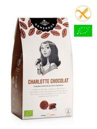 Galletas Sin Gluten y Ecológicas - Charlotte Chocolat - Estuche 125grs. - Generous