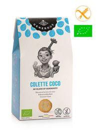Galletas Sin Gluten y Ecológicas - Colette Coco - Estuche 125grs. - Generous