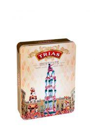 Galletas Trias - Identitats Castellers - Caja de lata 175grs. - Trias