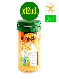 Garbanzos - Ecológicos - Al Natural - Frasco 1Kg. x 12 unidades - Monjardín