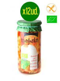 Garbanzos con Verduras - Ecológicas - Frasco 1Kg. x 12 unidades - Monjardín