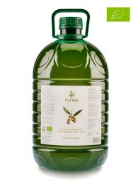 Aceite de Oliva Virgen Extra - Ecológico - Coupage Arbequina y Empeltre - Garrafa de 5l - Cal Valls
