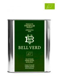 Aceite de Oliva Premium Virgen Extra de Arbequina - Ecológico - Botella 500ml. - Bell Verd - Girona