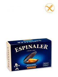 Mejillones de las Rías - En escabeche - Lata (10/12) - Espinaler