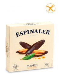 Mejillones Premium de las Rías - En escabeche - Empacados a mano - Lata (4-6) - Espinaler