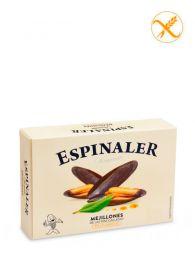 Mejillones Premium de las Rías - En escabeche - Empacados a mano - Lata (12-16) - Espinaler