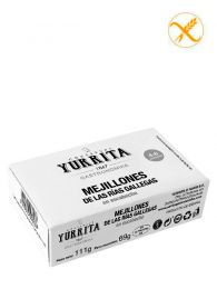 Mejillones de las Rías en escabeche - Lata 111grs (4-6) - Yurrita Gastronomika