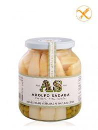 Menestra de Verduras Navarresas al Natural - Frasco 720ml - Conservas Gourmet Adolfo Sádaba - Navarra