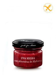 Mermelada de Uva negra con almendras de Mallorca - Frasco 70grs. - Just for Cheese Can Bech