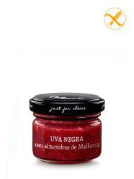 Mermelada de Uva negra con almendras de Mallorca - Frasco 70grs. - Just for Cheese Can Bech