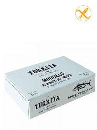 Morrillo de bonito del Norte en aceite de oliva - Lata 112grs - Yurrita Gastronomika