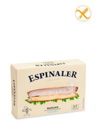 Navajas Premium de Isla Sálvora - Al natural - Empacadas a mano - Lata (5-7) - Espinaler