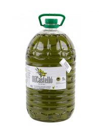Oli Castelló Alsina en garrafa de 5litros, de Arbequina