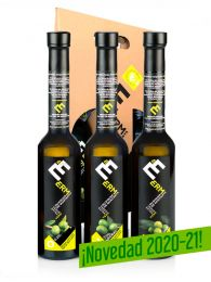 Oferta - Pack Cata Aceites Premium - 3 Variedades autóctonas de Montaña - Estuche 3 Botellas 500ml - Erm - Valle de Barcedana - Lleida