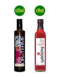 Pack Dúo Aceite y Vinagre - Ideal Restaurantes y Bares
