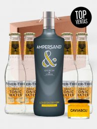 Pack GinTonic Lover - Ampersand - Fever Tree - Caviaroli