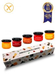 Pack de Mermeladas Gourmet para maridajes con quesos - Frasco 30grs. x 5ud. - Just for Cheese Can Bech