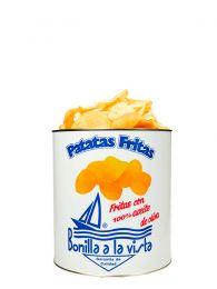 Patatas Bonilla en lata pequeña de 275grs.