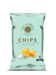Patatas Fritas - con Flor de Sal de Ibiza - 125grs. - Sal de Ibiza