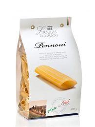Pennoni - 3 colores - Pasta Italiana - 500grs - Loggia Dei Grani by Dalla Costa