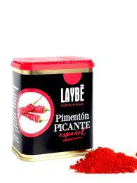 Pimentón picante gourmet de Laybé Premium