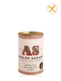 Pimientos del Piquillo Extra - Lata 425ml - Conservas Gourmet Adolfo Sádaba - Navarra