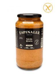 Salsa Brava Espinaler picante, frasco 900grs.