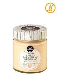Salsa crema de queso parmigiano reggiano de San Cassiano