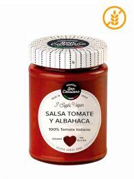 Salsa Italiana Gourmet con tomate y albahaca de San Cassiano