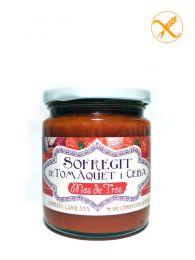 Sofrito de Tomate y Cebolla en conserva - Tarro de 240grs - Mos de Tros