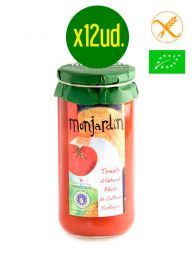 Tomate Natural entero Extra - Ecológico - Frasco 1Kg. x 12 unidades - Monjardín