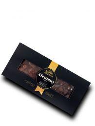 Turrón Chocolate con Avellanas - Premium - Estuche de 300grs. - Alemany
