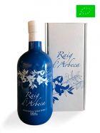 Aceite de Oliva Virgen Extra Premium de Arbequina - Ecológico - Botella de 500ml con estuche - Oli Raig d'Arbeca - Lleida
