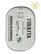 Anchoas Premium Alta Gastronomía en aceite de oliva - Mariposa - Yurrita Gastronomika