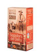 Arroz Extra Gourmet - Estuche 1kg. - Segadors del Delta