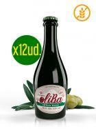 ¡Oferta! Caja de Cerveza Verde Artesana de Oliva Empeltre - Sin Gluten - Botella de 33Cl. x 12ud. - Oliba Green Beer - The Empeltre One - Oliete - Teruel